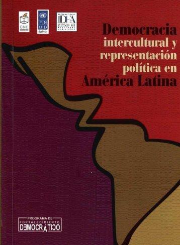 Representación política de la democracia intercultural - Biblioteca ...