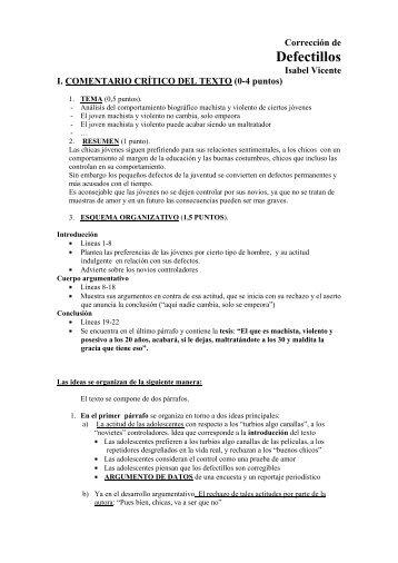 corrección al texto defectillos examen pau septiembre 2011