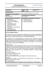 projektbericht_aufwandsschaetzung.pdf - PTA GmbH