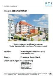 Modernisierung und Erweiterung der Verbandsgemeindeverwaltung ...