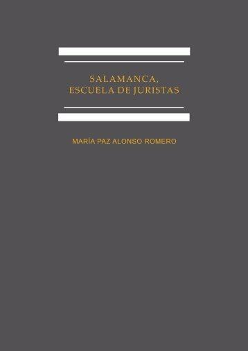 Salamanca, escuela de juristas - E-Archivo - Universidad Carlos III ...
