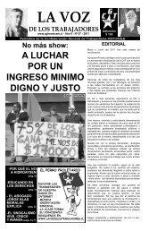 La Voz de los Trabajadores - Luis Emilio Recabarren