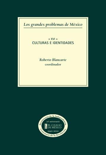 xvi. culturas e identidades - Aniversarios - El Colegio de México