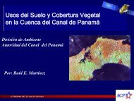 Usos del Suelo y Cobertura Vegetal en la Cuenca del Canal de ...