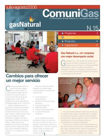 ComuniGas - Gas Natural