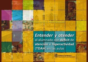 Entender y atender al alumnado con déficit de - Creena - Navarra