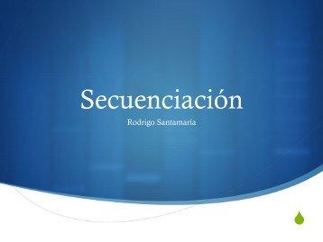 Nuevas tec. de secuenciación