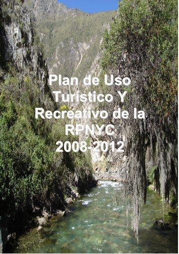 Plan de uso turístico - Sernanp
