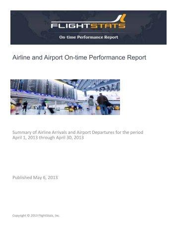 tsa flight performance report This report addresses (1) actions tsa has taken to develop guidance and   employee training flight crews performance measures standards strategic.