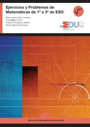 Ejercicios y Problemas de Matemáticas de 1º a 3º de ESO