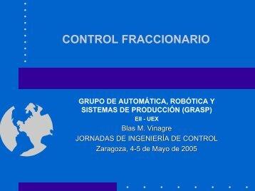 Control Fraccionario