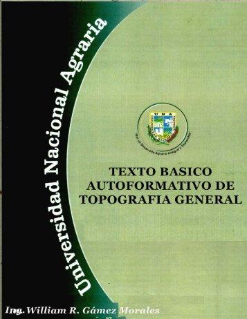 texto basico autoformativo de topografia general - Centro Nacional ...