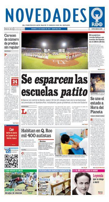 Se esparcen las escuelas patito - Novedades de Quintana Roo