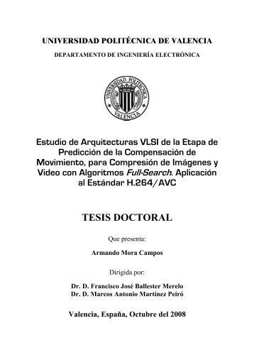 Tesis gonzalo cuesta amat riunet universidad for Universidad valencia master