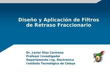 Diseño y Aplicación de Filtros de Retraso Fraccionario - Cudi