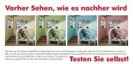 mailing farbtest - punktum Marketing & Kommunikation in Dortmund