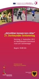 21. Dortmunder Seniorentag - Stadt Dortmund