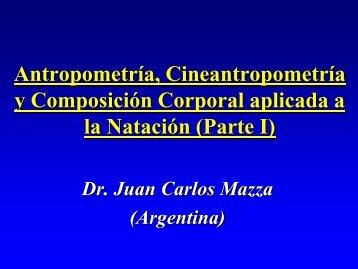 2-1 Antropom Cineantropom y Comp Corporal Natacion Parte I