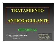 HEPARINAS - Meducar