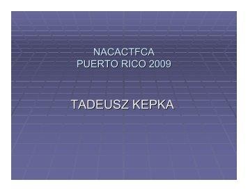 TADEUSZ KEPKA - Nacactfca