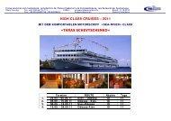 high class cruises – 2011 «taras schevtschenko - pulexpress