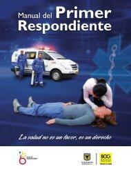 Manual Primer Respondiente - Secretaría Distrital de Salud