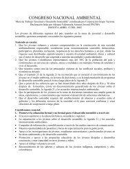 CONGRESO NACIONAL AMBIENTAL - Red de Desarrollo ...