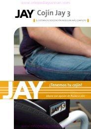 Catálogo cojín anti escaras y posicionamiento Jay 3