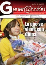 Lo que se viene con China - Generaccion.com