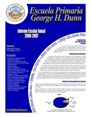 Escuela Primaria George H. Dunn - Axiomadvisors.net