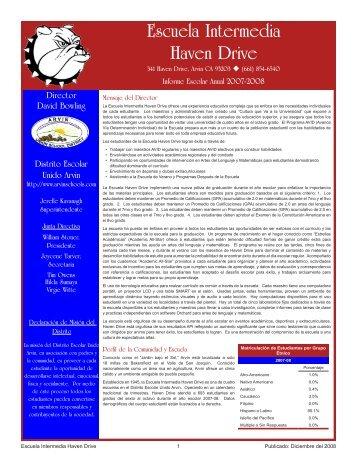 Escuela Intermedia Haven Drive - Axiomadvisors.net