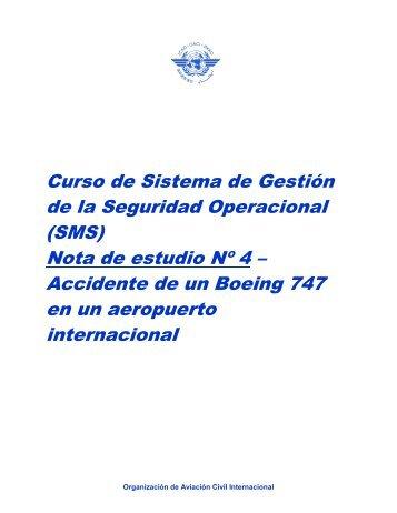 Curso de Sistema de Gestión de la Seguridad Operacional ... - Achhel