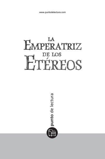 Primeras páginas de 'La Emperatriz de los Etéreos' - Prisa Ediciones