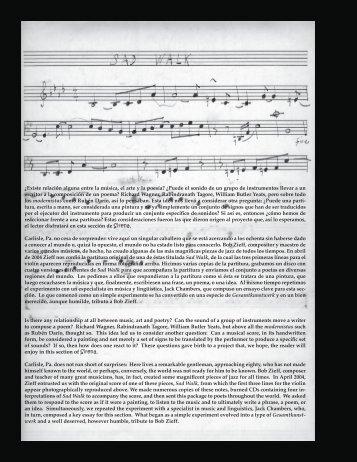¿Existe relación alguna entre la música, el arte y la poesía