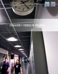 EDUCACIÓN Y CIENCIA EN FINLANDIA