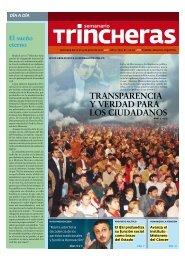 actualidad - Semanario Trincheras