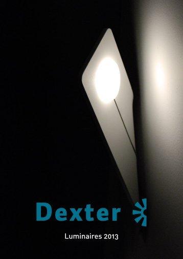 Dexter luminaires 2013