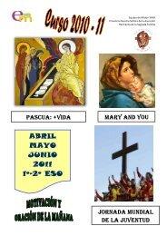 ABRIL MAYO JUNIO 2011 1º-2º ESO - Hermanos de la Sagrada ...
