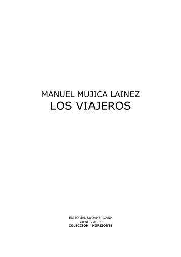 Mujica Láinez, Manuel – Los viajeros - Lengua, Literatura y ...