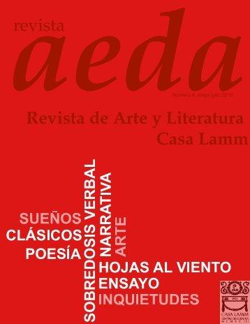 revista Revista de Arte y Literatura Casa Lamm - Revista AEDA