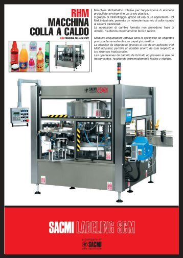 Download the catalogue - Sacmi Labelling