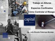 cómo controlar el riesgo Julio Ricardo Patarroyo - Salud Ocupacional