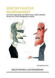 DOKTOR FAUSTUS REORGANISIERT - Puppentheater Magdeburg