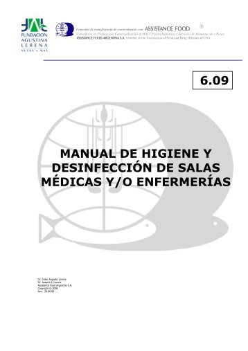 MANUAL DE HIGIENE Y DESINFECCIÓN DE SALAS ... - Blogs