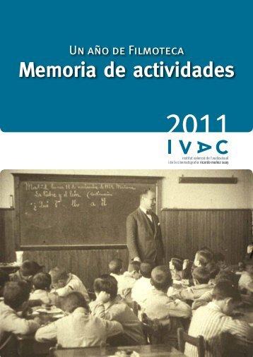 Descargue aquí el pdf de la publicación - IVAC - Generalitat ...