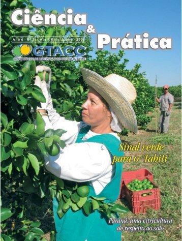 Paraná: uma citricultura de respeito ao solo - GTACC