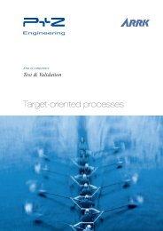 Target-oriented processes - bei P+Z Engineering