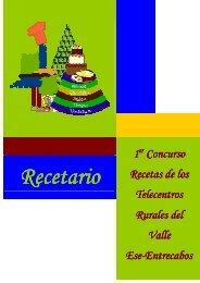 Recetario I Concurso de Recetas Valle Ese-Entrecabos