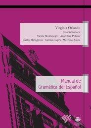 Elaboración de un manual de gramática del español para