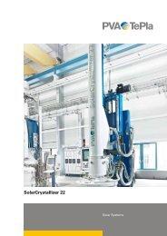 SolarCrystallizer 22 - PVA TePla AG